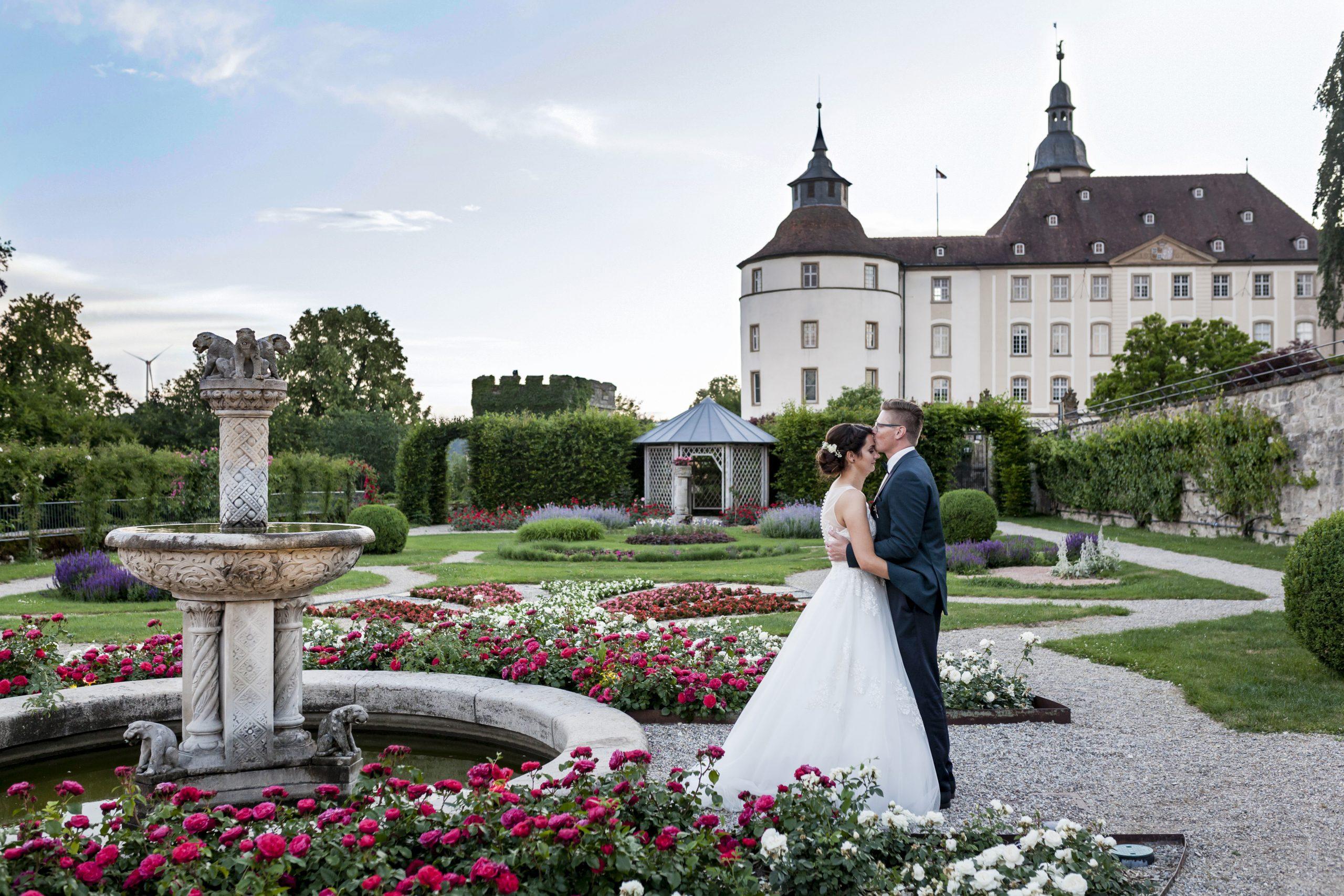 Hochzeit von Nathalie & Marcel auf Schloss Langenburg